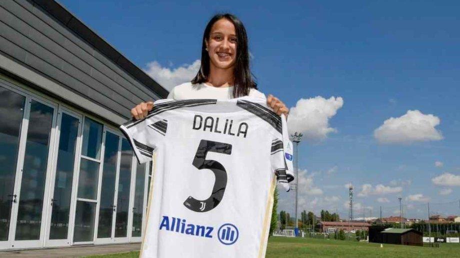 Dalila Ippolito, de 18 años, es la flamante incorporación de Juventus, bicampeón de Italia.