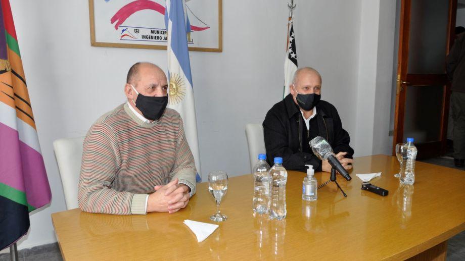 Hoy está prevista la visita a Jacobacci del Ministro de Salud, Fabián Zgaib,. (Foto: José Mellado)