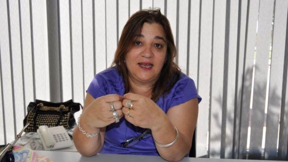 La legisladora Soraya Yahuar manifestó un enérgico repudio al incremento del valor del gas. (Foto: José Mellado)