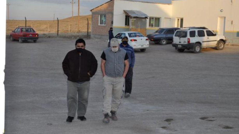 Ex trabajadores de la carne formaron una cooperativa y buscan reactivar el frigorífico. (Foto: José Mellado)