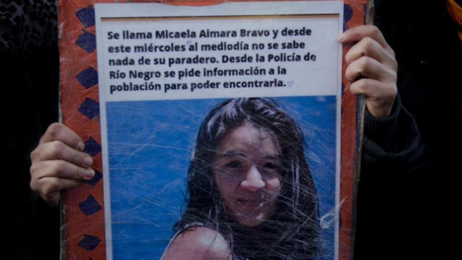 Micaela Bravo tenía 28 años cuando la asesinaron en Bariloche, y era madre de tres hijos pequeños. (foto archivo)