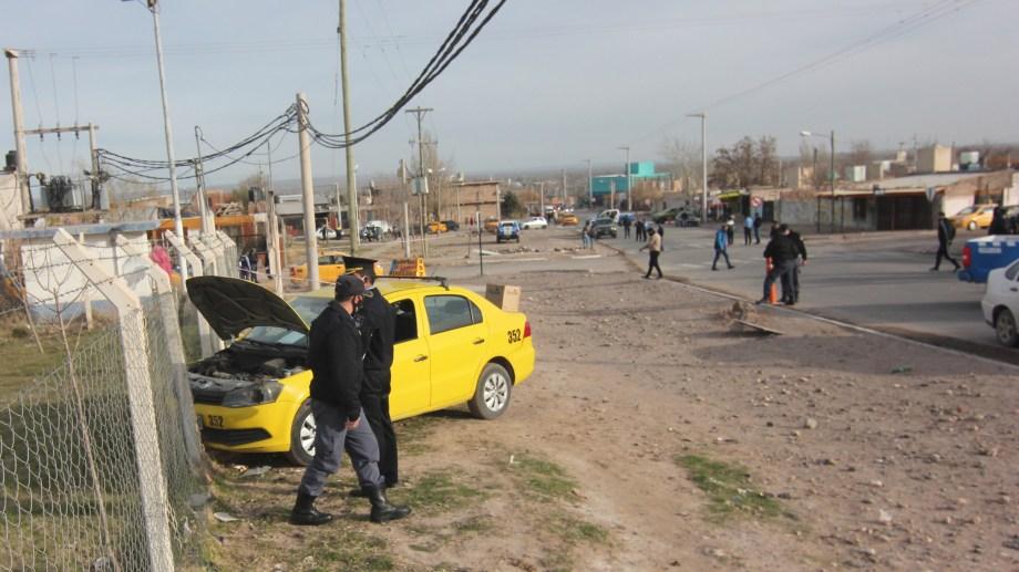 El 7 de agosto el taxista Miguel Sisterna recibió un balazo mientras transitaba por Cuenca XV. Foto: Oscar Livera