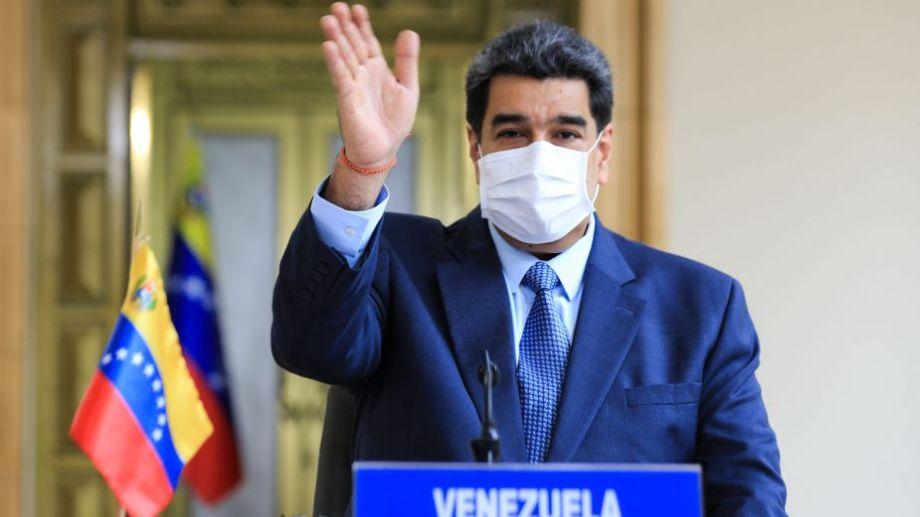 """El venezolano Maduro anticipó """"dejarán un trabajo adelantado al país"""".-"""