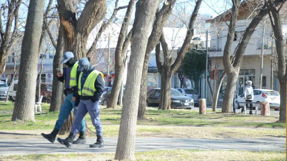 Piden más seguridad en Plottier ante el aumento de robos. Foto: Yamil Regules