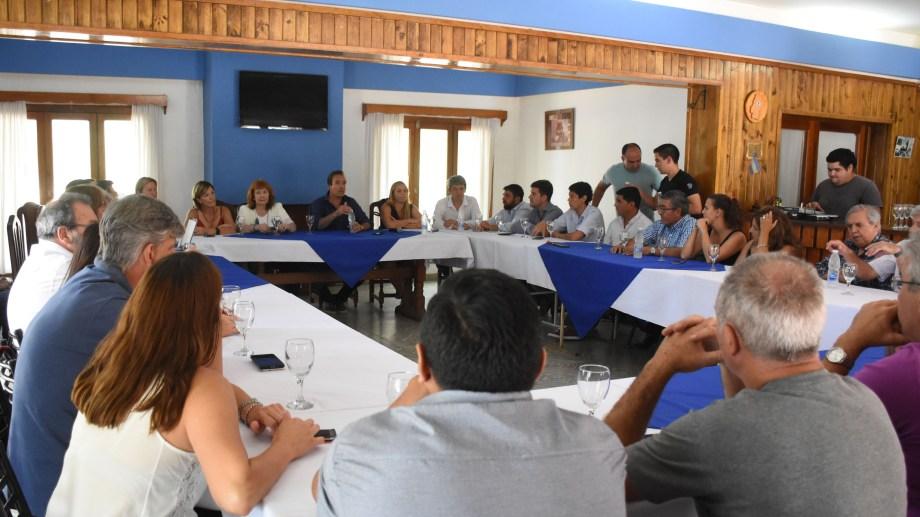 El PJ rionegrino renovó sus autoridades luego de la reunión realizada en Roca a principios de marzo.
