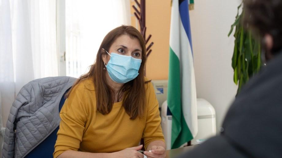 Ana Senesi, directora del hospital, estará al frente de las conferencias de prensa.