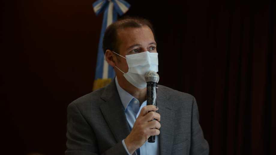 El gobernador Omar Gutiérrez. Foto Archivo: Yamil Regules.