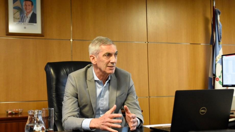 Guillermo Pons asumió el ministerio el 10 de diciembre del año pasado. Foto: Florencia Salto.