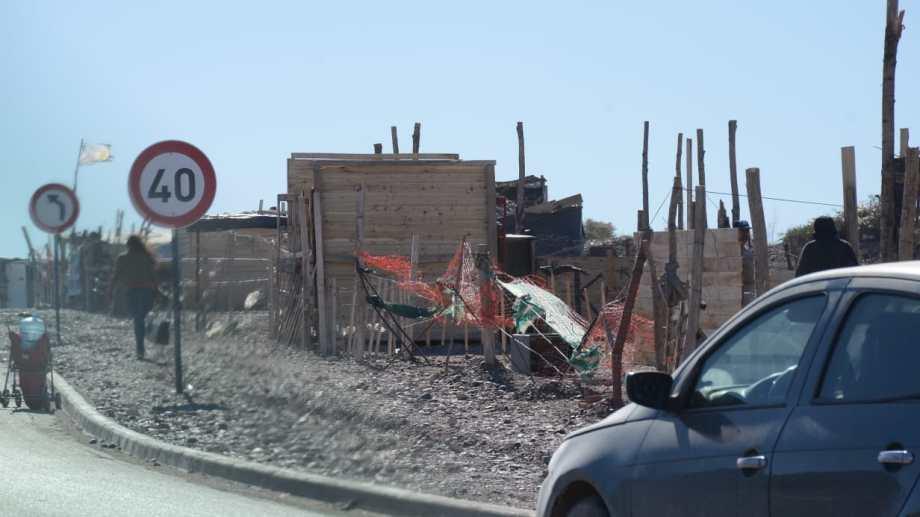 Toma Autovia Norte (foto Yamil Regules)