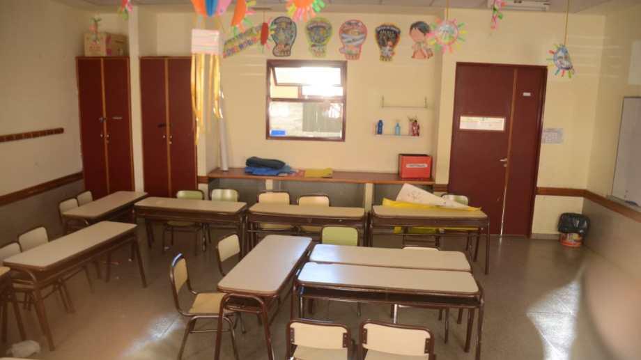 En Neuquén no hay fecha prevista para el regreso a las aulas. (Archivo Yamil Regules).-