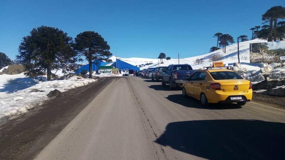 56 personas regresarán hoy a Neuquén, desde Chile, en un programa de repatriados. (Gentileza).