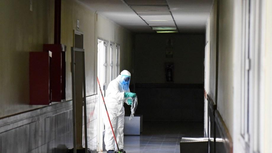El Hospital de Cipolletti. Foto: Florencia Salto