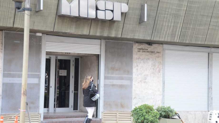 El ministerio de Economía está bajo la conducción de Guillermo Pons. Foto: Yamil Regules.