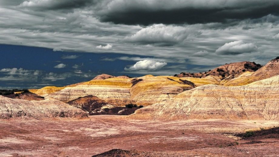 La Formación Chinchinales es una unidad geológica compuesta por sedimentos. La mayoría de esos sedimentos son origen volcánico que se depositaron en el período Mioceno inferior hace 20 millones de años cuando la Cordillera de los Andes estaba en pleno levantamiento.