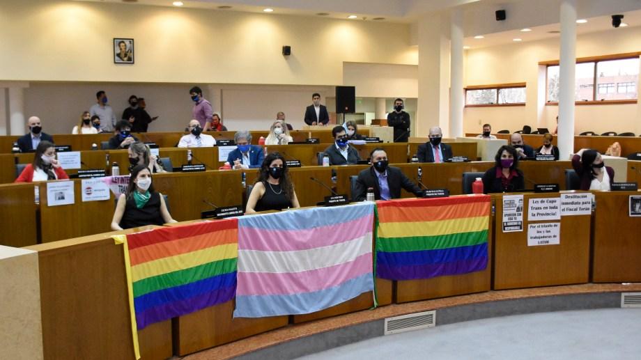 El Concejo Deliberante en 2020 (antes de la renuncia de Angélica Lagunas) contaba con paridad de género en el recinto. (foto archivo)