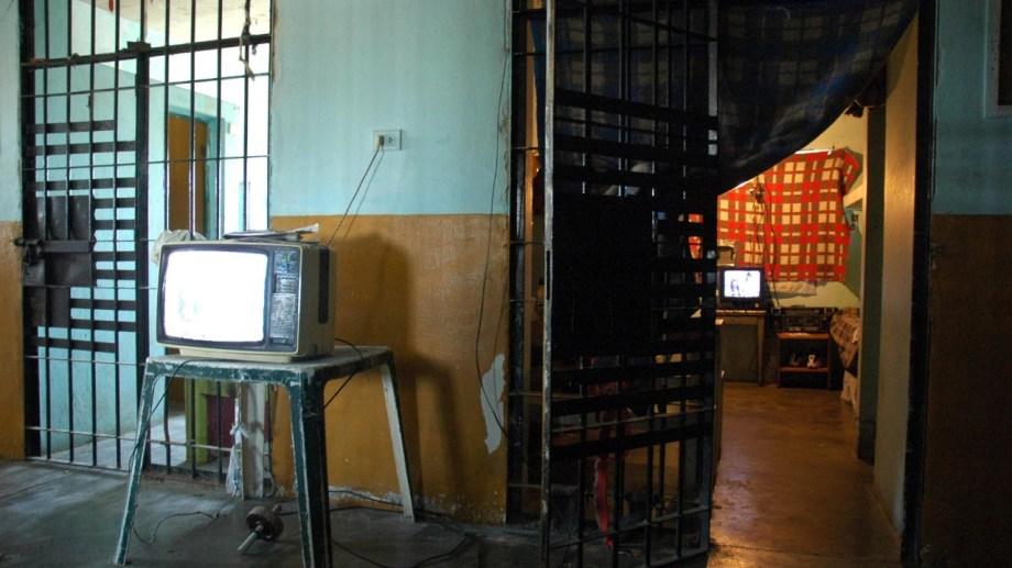 El trágico suceso se registró en la vieja Alcaidía de Viedma, en 2005. Foto: Marcelo Ochoa.