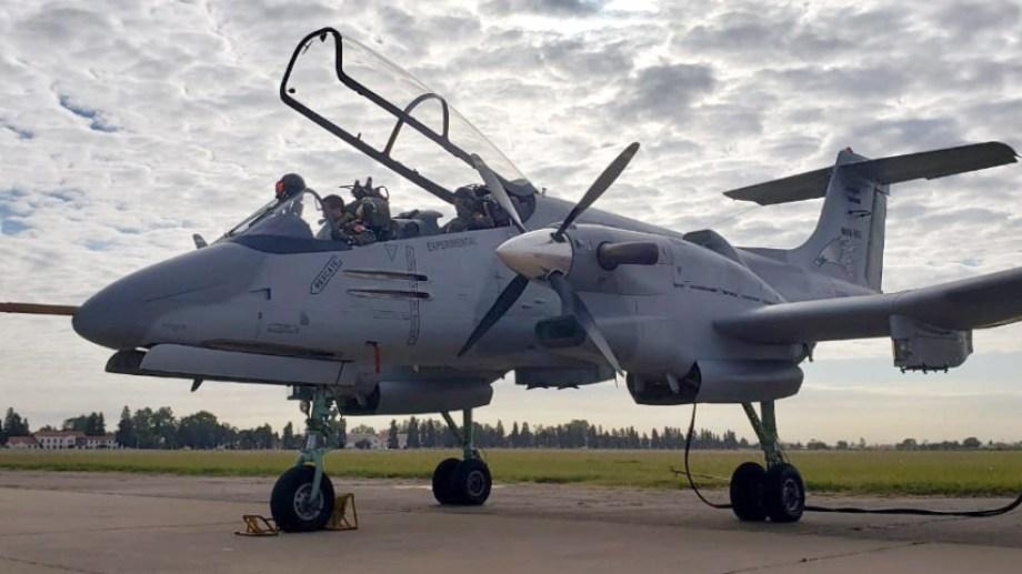 Aviones de la Fuerza Aérea Argentina llevarán tecnología made in Bariloche. Gentileza Ministerio de Defensa