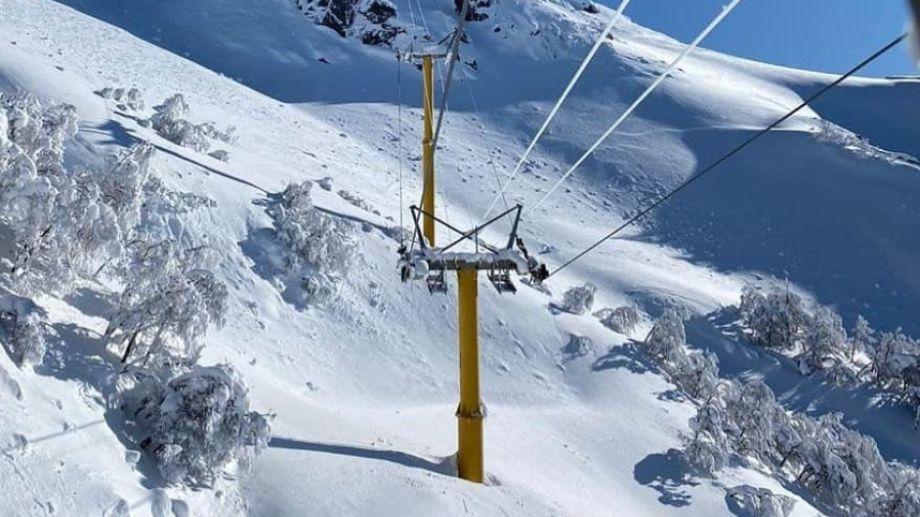 De 10 a 17  Cerro Bayo recibe a los primeros esquiadores. Foto: gentileza Cerro Bayo