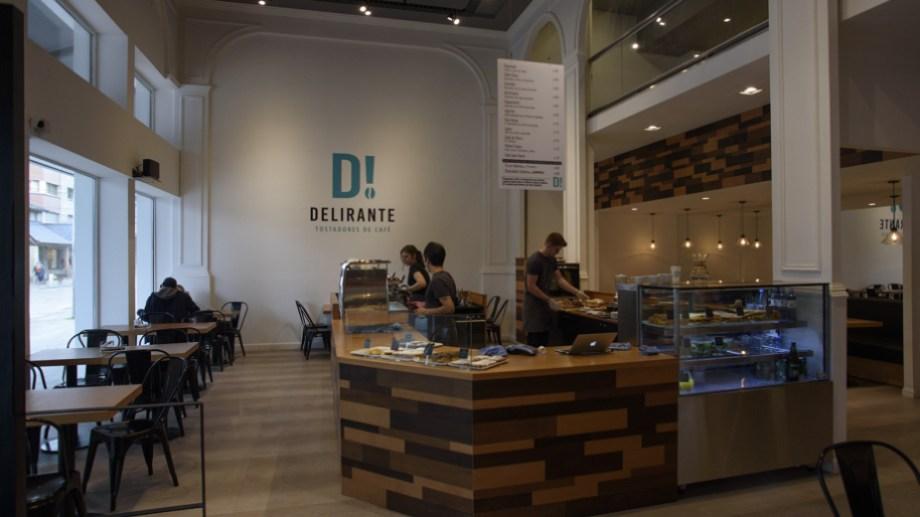 """El propietario de la cafetería Delirante, que tiene tres sucursales en Bariloche, aplica el """"derecho de admisión"""" a los políticos. Archivo"""