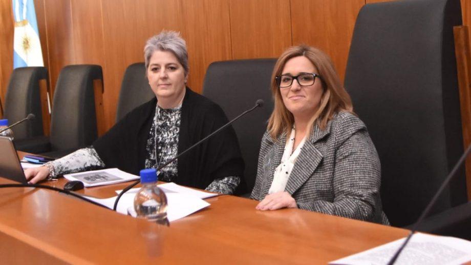 Carla Pandolfi y Soledad Gennari. Movimientos en la cúpula del Tribunal Superior de Neuquén. (Gentileza)