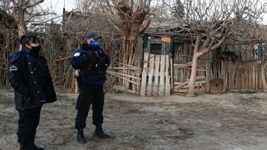 El violento ataque se produjo el martes a la madrugada en la zona oeste de la ciudad. (foto: Juan Thomes)