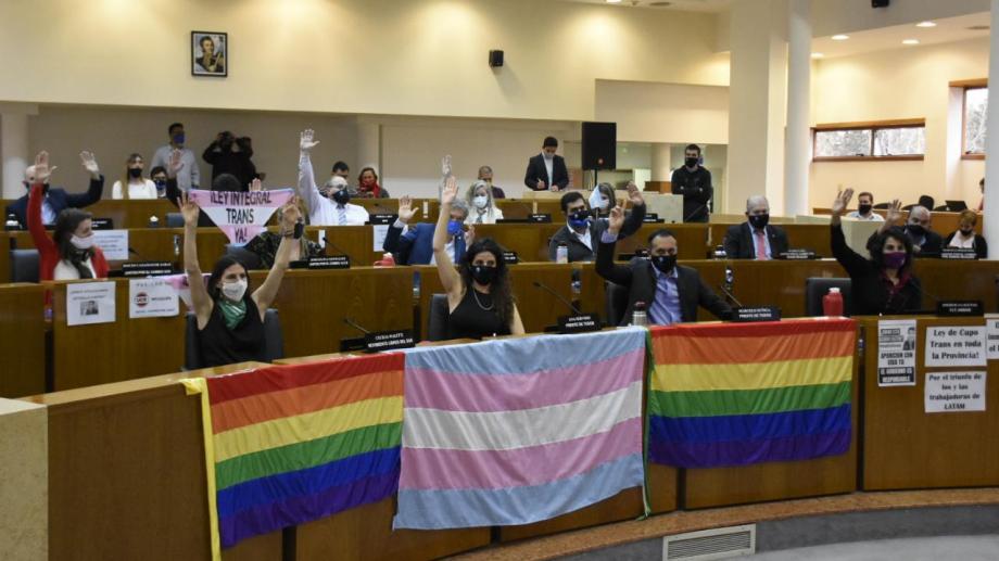 El cupo laboral trans fue aprobado en agosto del año pasado. (Foto archivo: Florencia Salto)