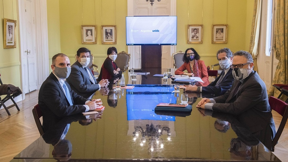 El gobierno nacional implementa desde hoy los gabinetes temáticos e interministeriales. Foto Télam.