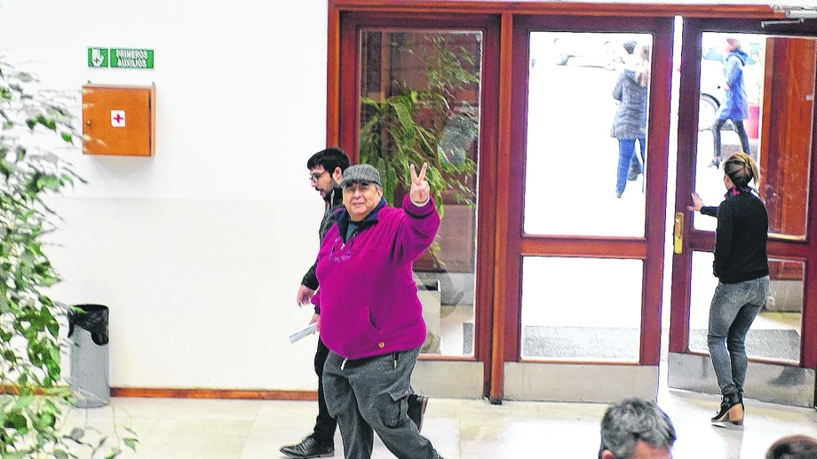 Gatica, titular de APEL, aceptó la responsabilidad penal y la pena, además de entregar terrenos. Foto: archivo.