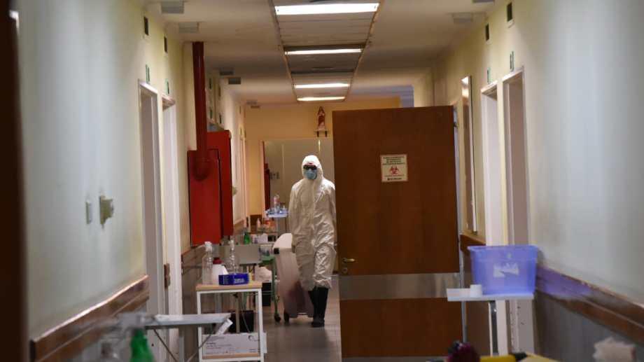 El hospital está al límite de su capacidad. (Foto: Florencia Salto)