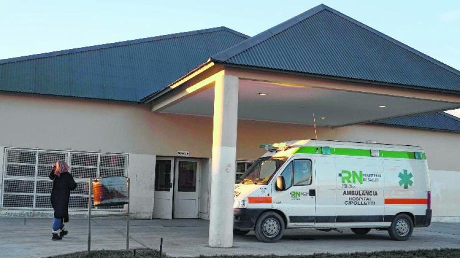 La cesárea se realizó en el hospital de Cipolletti