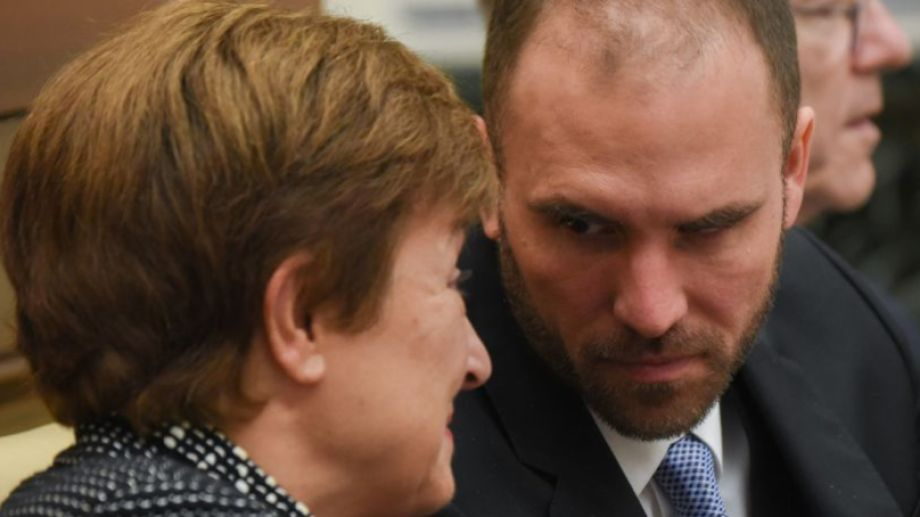 Guzmán valoró el buen diálogo que mantiene con Georgieva, tras las negociaciones de deuda. Foto: Victor Sokolowicz.-