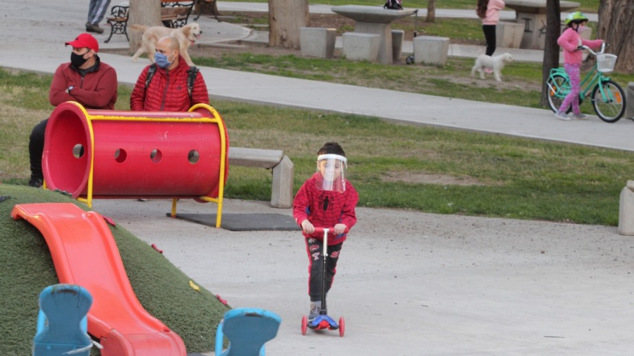 Hoy se anunció que los domingos estarán permitidas las salidas recreativas para todas las edades. (Foto: Oscar Livera)