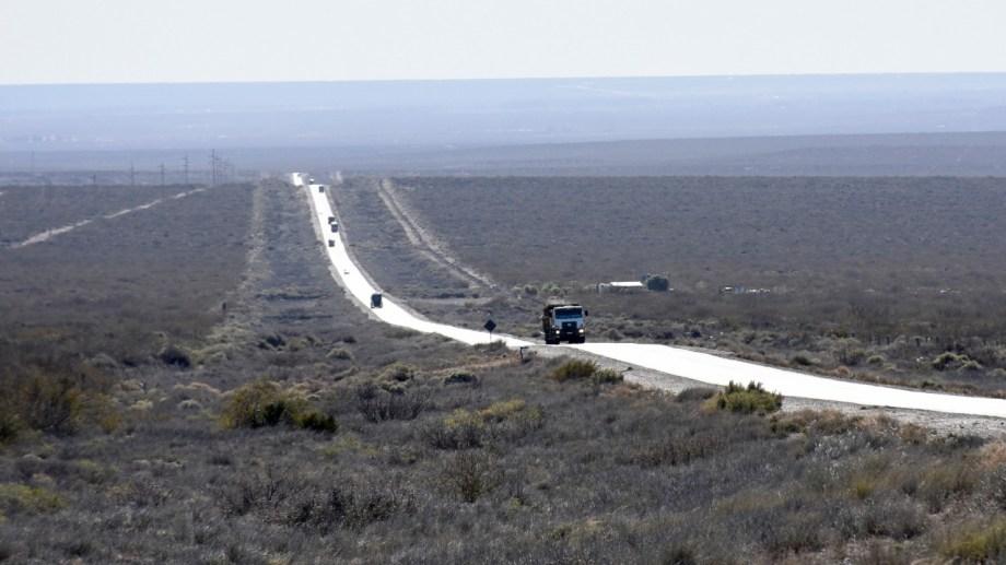 La 151 nace en la rotonda de Ciplletti y se extiende hasta el corazón de La Pampa. (Fotos: Florencia Salto)