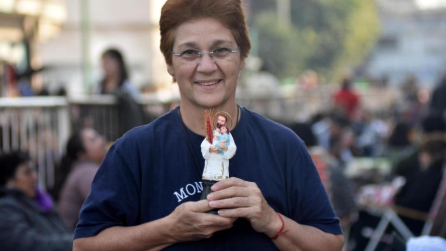 Hoy no habrá ninguna actividad masiva por la celebración de San Cayetano. Foto: archivo Buenos Aires