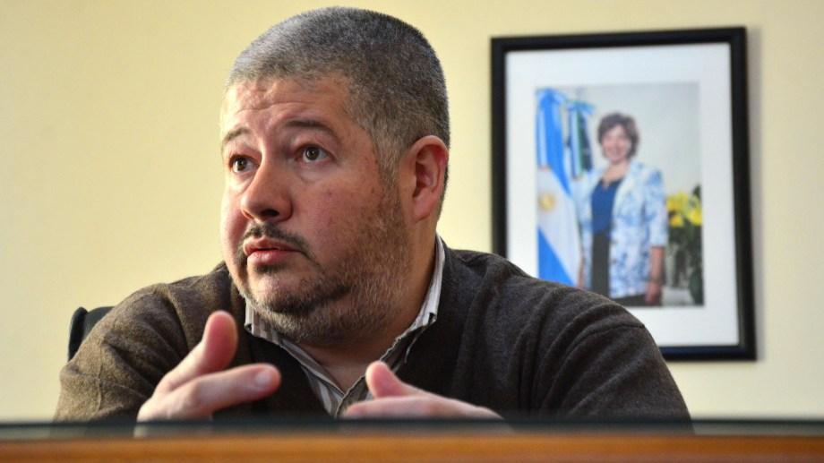 Luis Vaisberg, ministro de Economía de Río Negro. Foto : Marcelo Ochoa