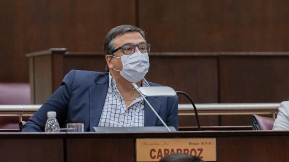 Caparroz fue director del hospital de Cutral Co y jefe de zona sanitaria. Foto: gentileza.
