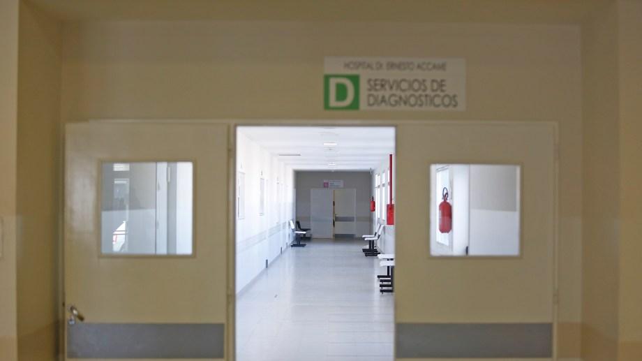 El Hospital Dr Ernesto Accame  de Allen. Foto: Juan Thomes