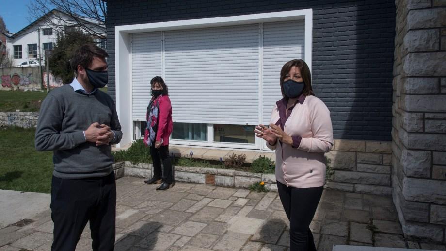 """""""Hay que revisar los montos"""", dijo la gobernadora en su última visita a Bariloche. Foto: Marcelo Martínez"""
