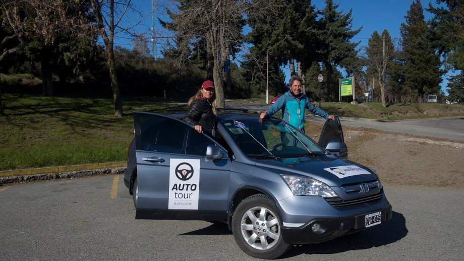 El auto tour de Bariloche ofrecerá en la primera etapa un city tour de 4 horas. Foto: Marcelo Martinez