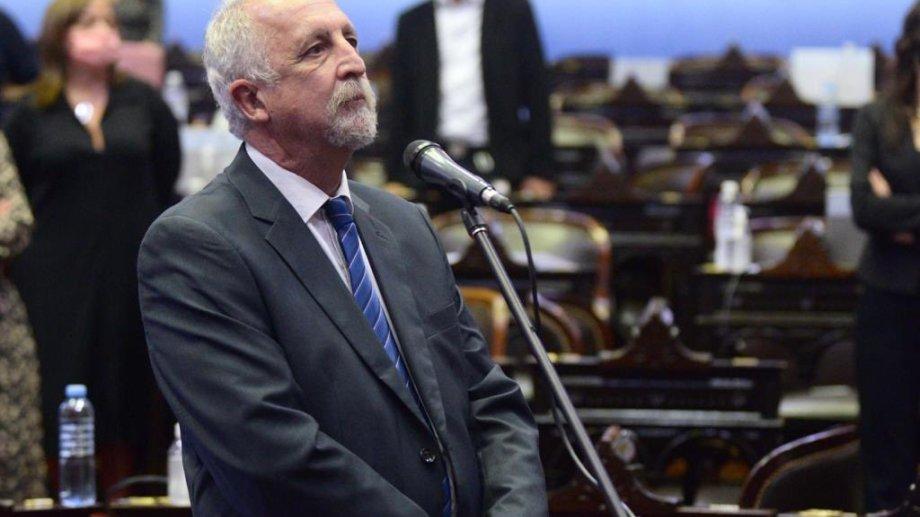 El exdiputado provincial tomó juramento este jueves en sesión especial. Foto: Twitter DiputadosAR