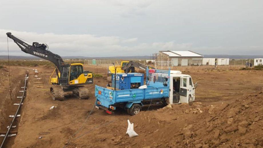 La obra beneficiará a 17.000 habitantes de la Región Sur rionegrina. (Foto: gentileza)
