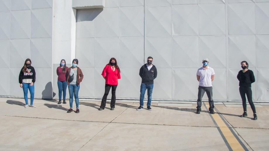 Los profesionales realizarán tareas en el hospital Castro Rendón:  Foto: Prensa de Gobierno