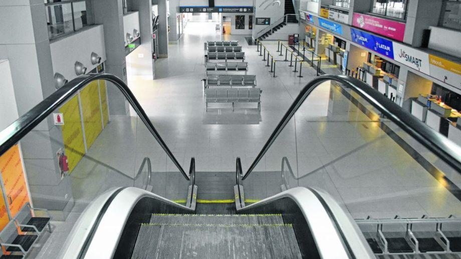 Los aeropuertos de la región esperan la reactivación del transporte aéreo. Archivo