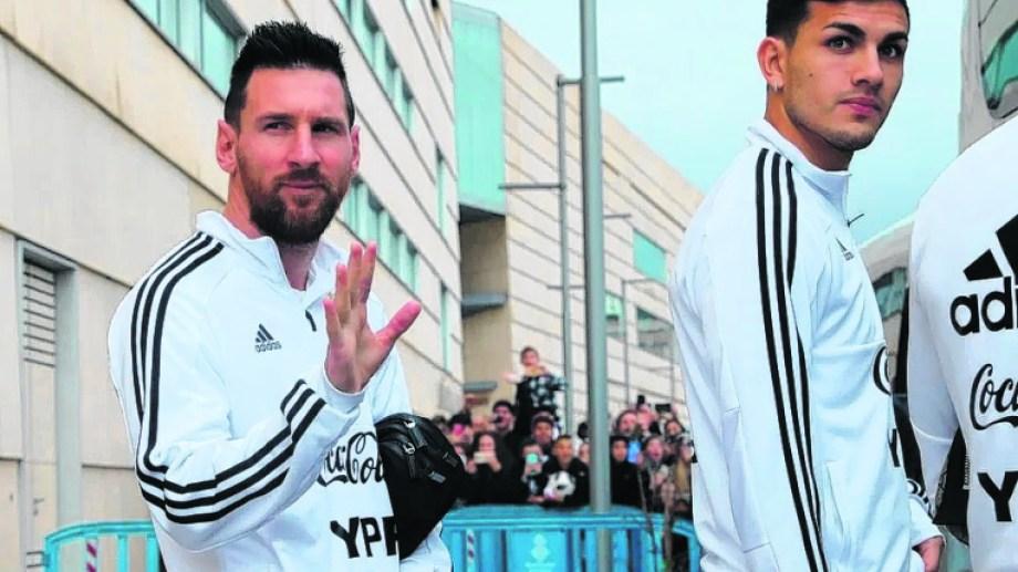 Messi podrá ser convocado por Lionel Scaloni para la doble fecha ante Ecuador y Bolivia.