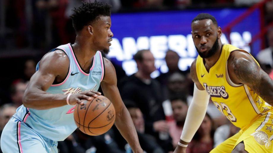 Será la primera final frente a frente entre Lakers y Heat.