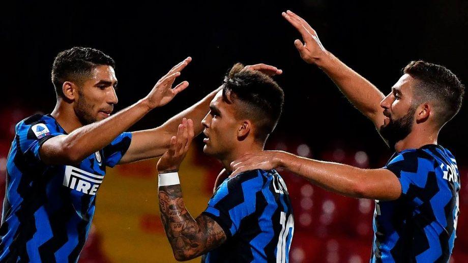 El Toro anotó el quinto gol de su equipo en la victoria ante Benevento.