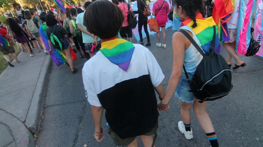 Las marchas del orgullo han sido un hito en la construcción de la identidad de la comunidad LGBTIQ+. Foto Oscar Livera.