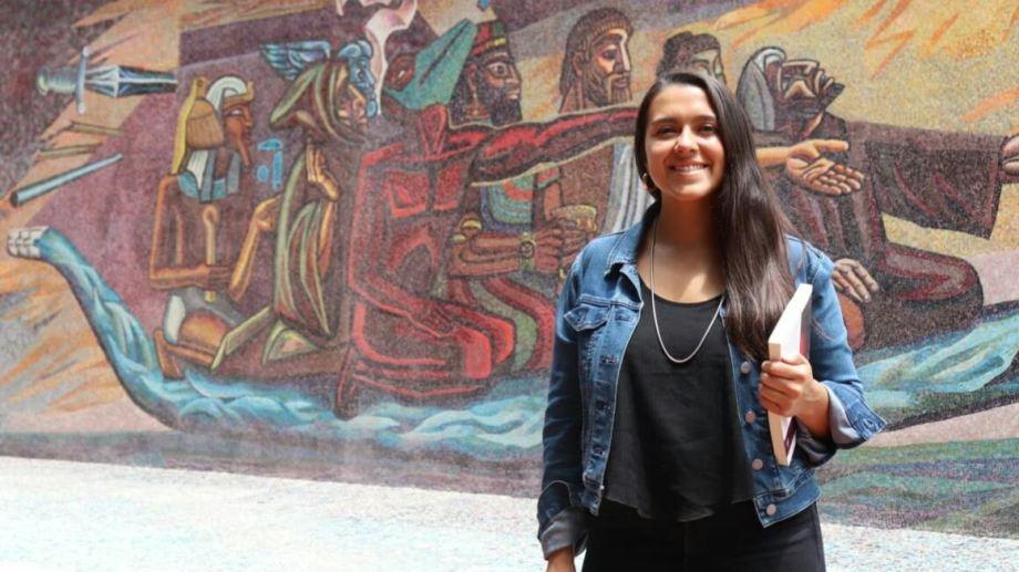 Melisa Cabrapan Duarte investigó cómo viven las mujeres migrantes y qué opciones laborales encuentran al estar en Patagonia Andina. Foto: gentileza