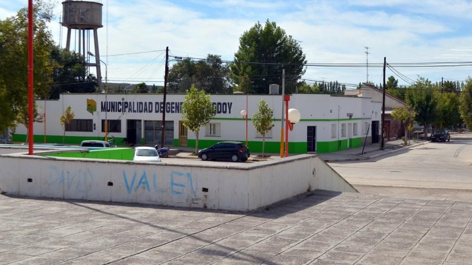 El municipio de Godoy tendrá sus puertas cerradas hasta el lunes próximo. (Foto Néstor Salas)