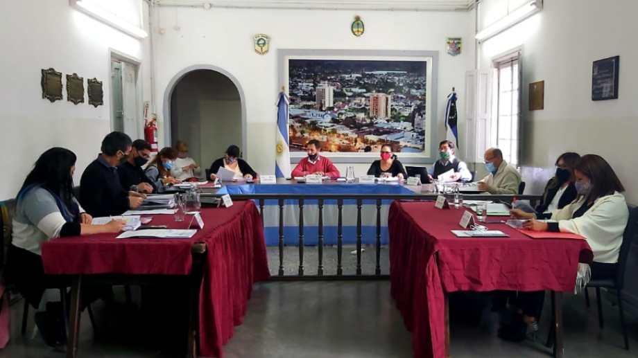 Se confirmó un caso positivo en el Deliberante de Regina y varios concejales están aislados. (Foto Néstor Salas)
